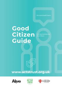 Good Citizen Guide