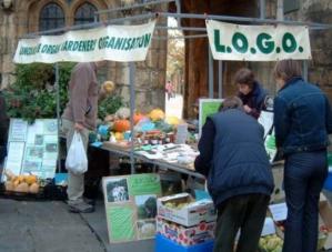 LOGO market stall